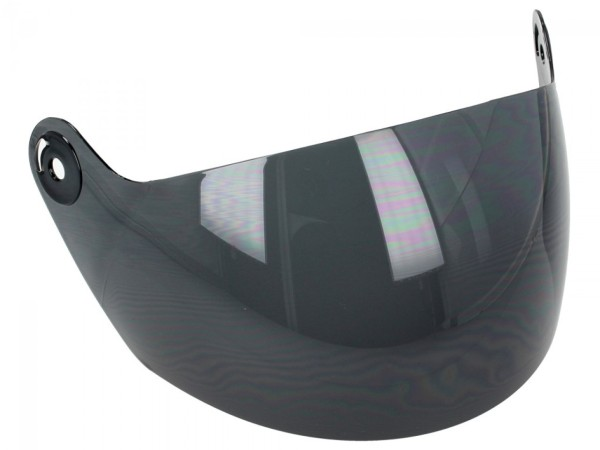Helmo Milano visor, Eos, turbine, Piccolapeste, tinted, scratch-resistant, long