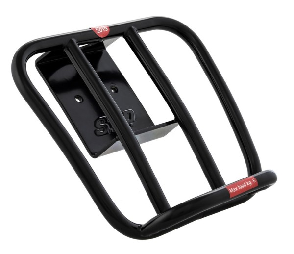 Luggage carrier rear 70's for Vespa GTS / GTS Super HPE 125-300 ('19-), black shiny