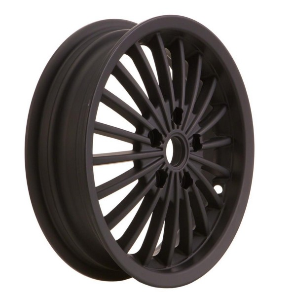 Rim front/rear for Vespa GTS/GTS Super/GTV/GT 60/GT/GT L 125-300ccm, matt black