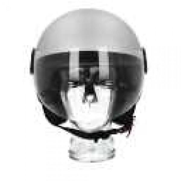 Piaggio open face helmet AWA Basejet gray matt