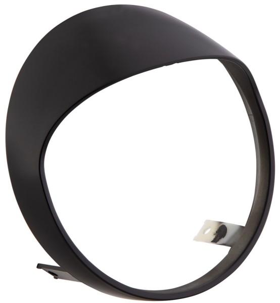 Headlamp rim for Vespa GTS/GTS Super HPE 125/300 ('19-), matt black