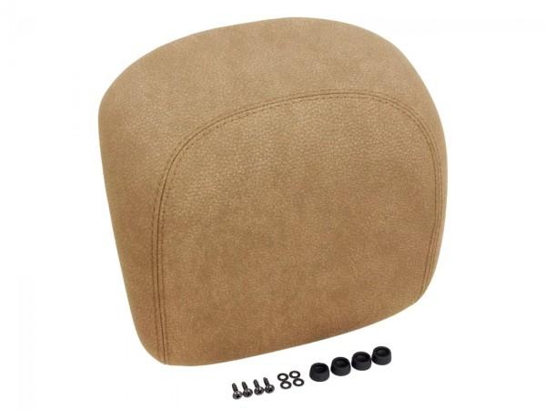 Original Vespa back pad, beige flat - CM273218