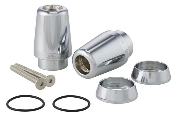 Handlebar end weights for Vespa GTS/GTS Super/GTV/GT 60/GT/GT L 125-300ccm, chrome
