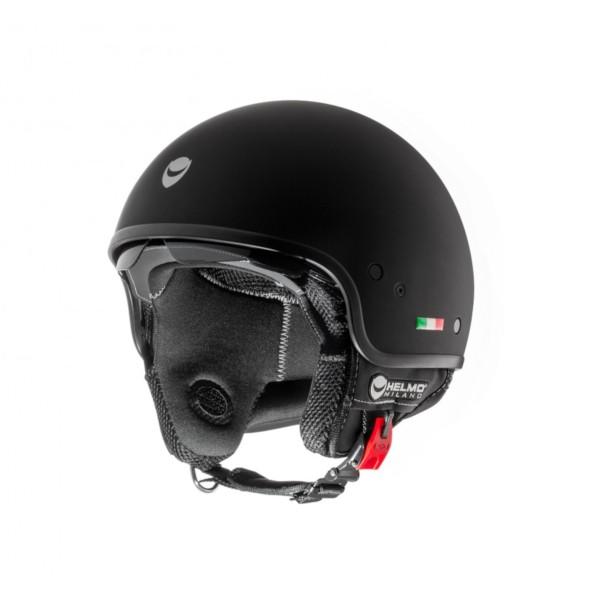 Helmo Milano Demi Jet, Puro, black, mat