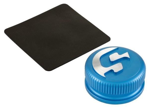 Tank cap for Vespa, matt blue