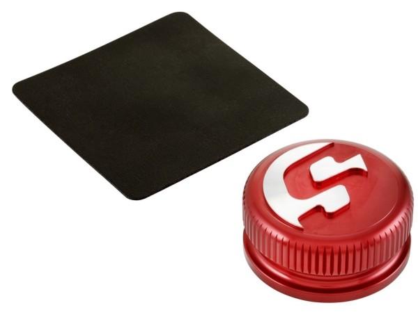 Tank cap for Vespa, red