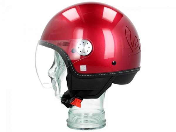 Vespa Jet Helmet Visor 3.0 red vignola