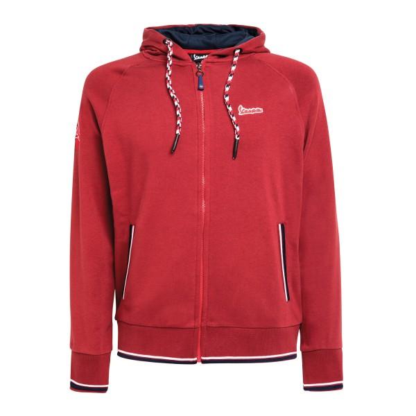 Vespa Modernist Sweatshirt man red