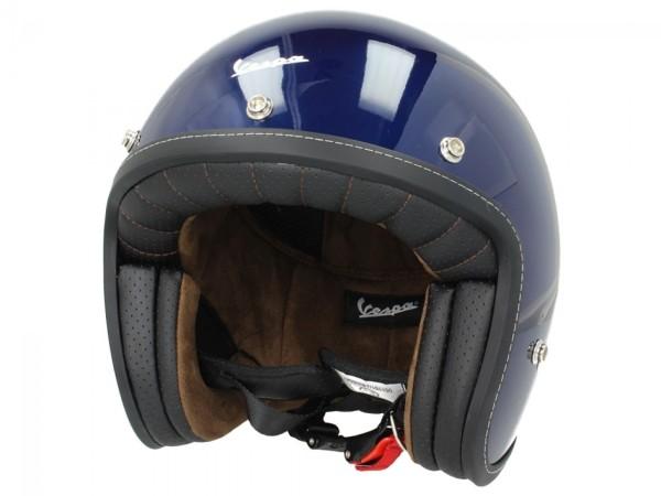 Vespa P-Xential 2.0 Open Face Helmet - Blue