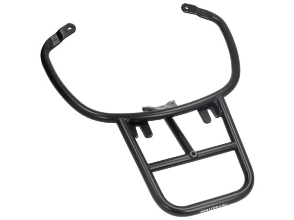 Black Top box support Vespa Primavera / Sprint / Elettrica