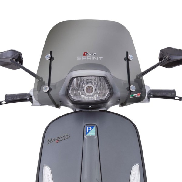 Windshield Faco small for Vespa Sprint - tinted