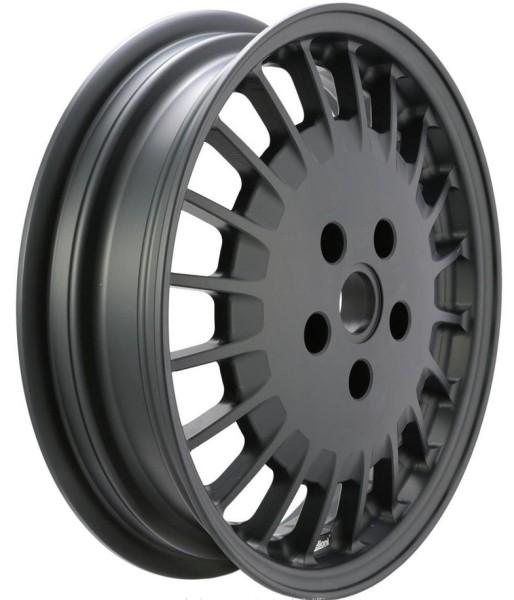 Rim front/rear for Vespa GTS/GTS Super/GTV/GT 60/GT/GT L/946 125-300ccm, matt black