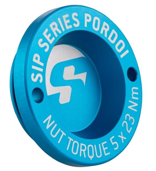 "Hub nut cover 13"" front rim for Vespa GTS/GTS Super/GTV/GT 60/GT/GT L 125-300ccm, matt blue"