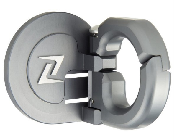 Luggage hook for Vespa GTS/GTS Super/GTV/GT 60/GT/GT L/S 50-300ccm, grey mat