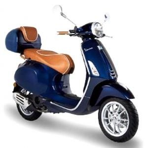 Leather handle Luxury Line for Vespa Primavera