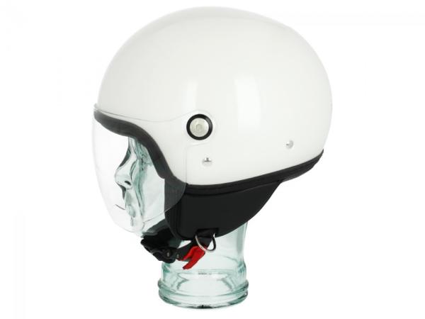 Piaggio P-Style Jet helmet white 566