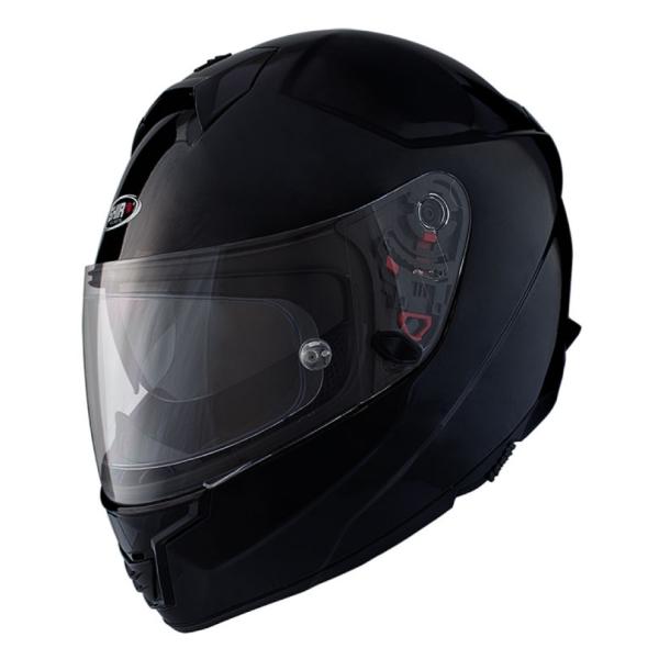 Shiro Integral Helmet, SH351, Fiber, black