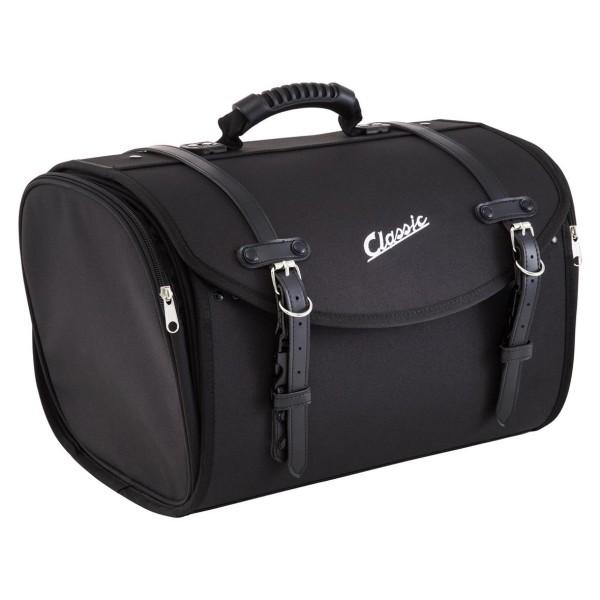 """Classic"" bag for Vespa - black, nylon"