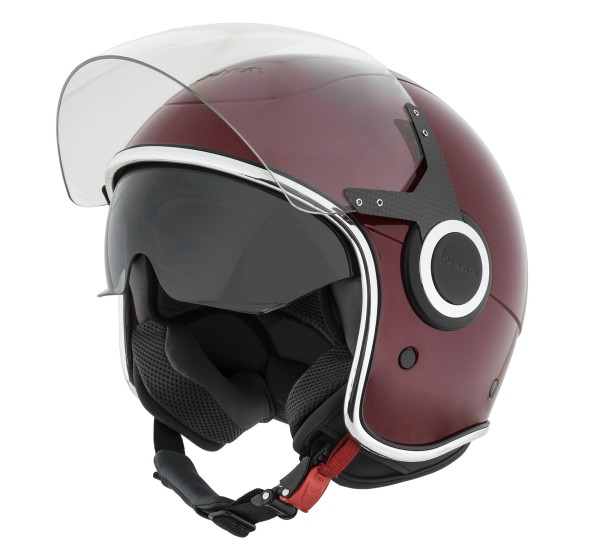 Vespa Jet Helmet VJ red Vignola