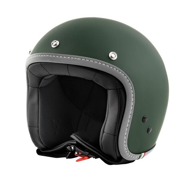 Vespa Color Jet Helmet English Green