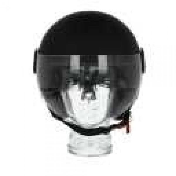 Piaggio open face helmet AWA Basejet black matt