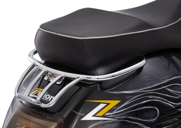 Luggage carrier rear for Vespa GTS/GTV/GT 125-300ccm 4T LC, chrome