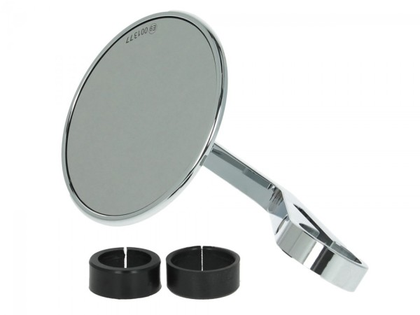 Handlebar mirror Highsider Montana for Vespa left or right, chrome