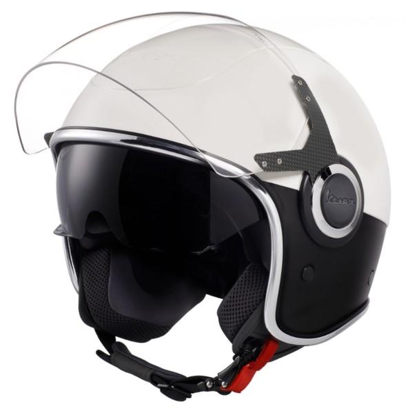Vespa VJ Helmet white black