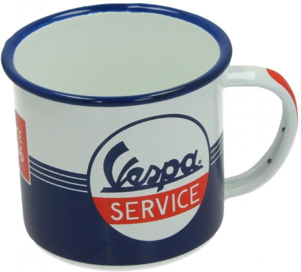 Vespa enamel mug Vespa Service