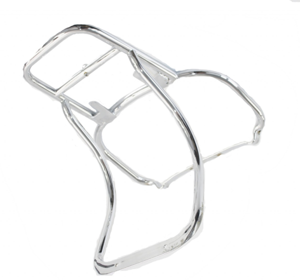 Original Rear Carrier for Top Case Chrome Vespa PX