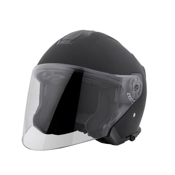 Piaggio PFJ Jet helmet black, matt