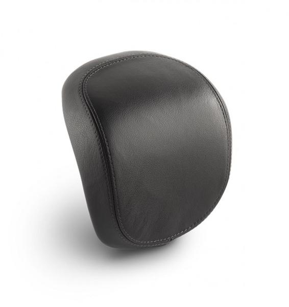 Original real leather backrest for Vespa Primavera / Sprint / Elettrica - black