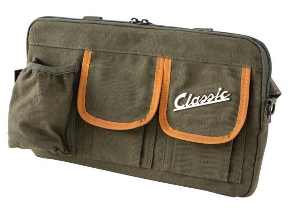 "Bag ""Classic"" for luggage compartment / glove box Vespa - olive, canvas"