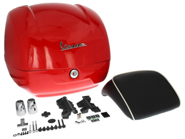 Original top box Vespa GTS - red dragon / red passion 894 (from 2014)