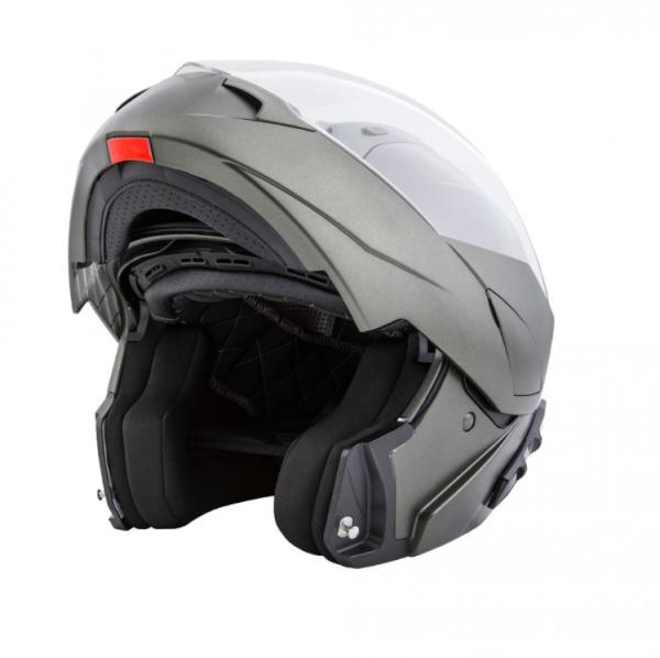 Piaggio modular helmet green