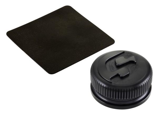 Tank cap for Vespa, black matt