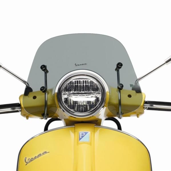 "Sport windscreen ""Cruiser"" smoked for Vespa GTS / Super (HPE & SuperTech) Original Vespa"