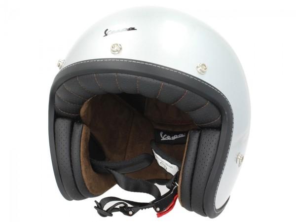 Vespa P-Xential 2.0 Open Face Helmet - gray