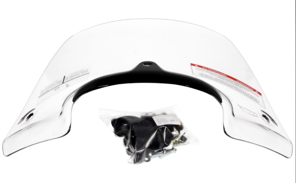 Sport Windscreen Kit Transparent for Beverly Original Piaggio