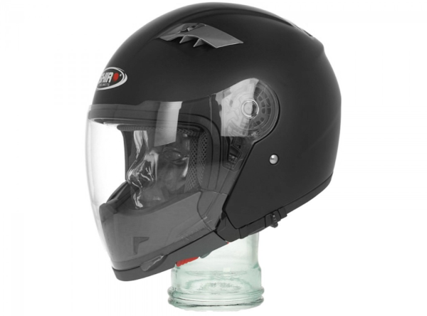 Shiro Integral Helmet Convertible, SH414, System, black matt