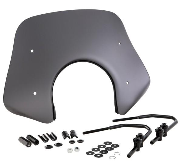 Flyscreen Piccolo for Vespa GTS/GTS Super/GT/GT L 125-300ccm, black mat