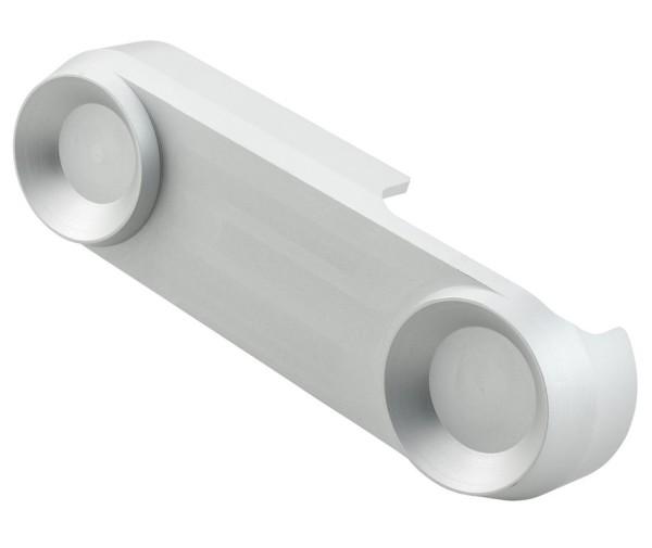 Suspension arm cover for Vespa, silver matt