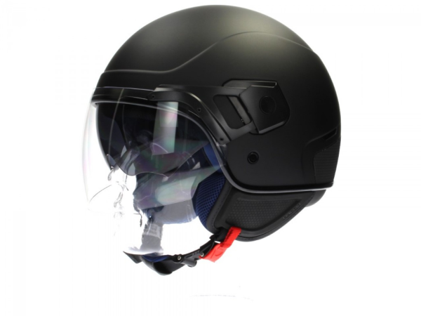 Piaggio PJ Jet helmet black, matt