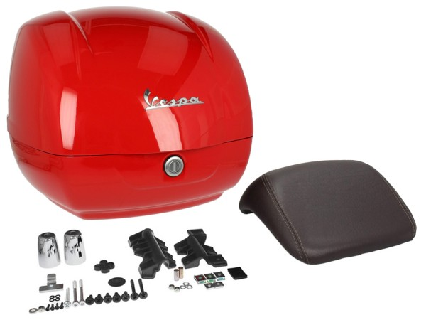 Original top box Vespa GTS - red dragon / red passion 894