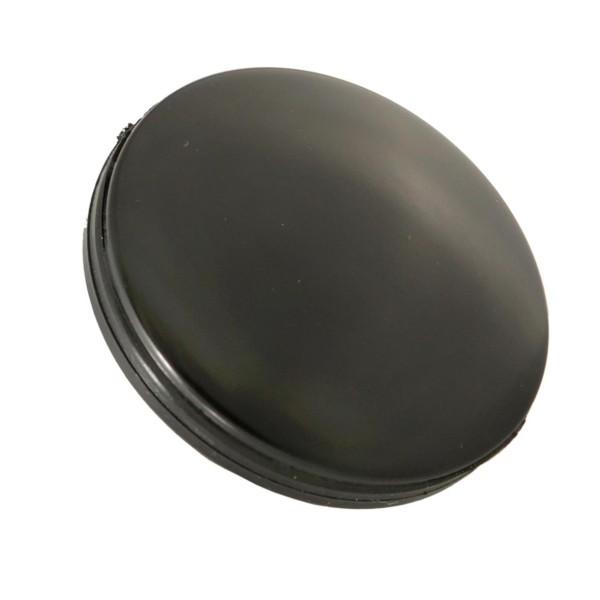 Cover mirror hole / handle bar end, black