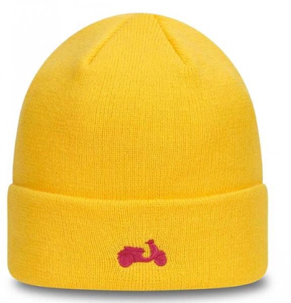 Vespa knitted hat NEW ERA yellow