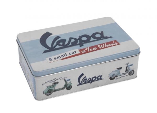 Vespa storage box, tin