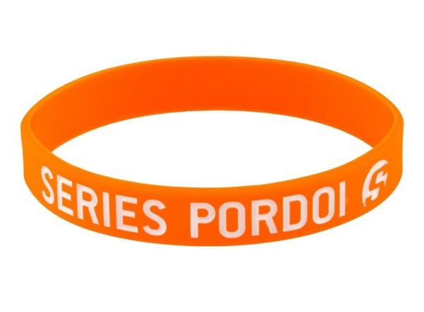 Rubber Strap for mudguard crest, orange