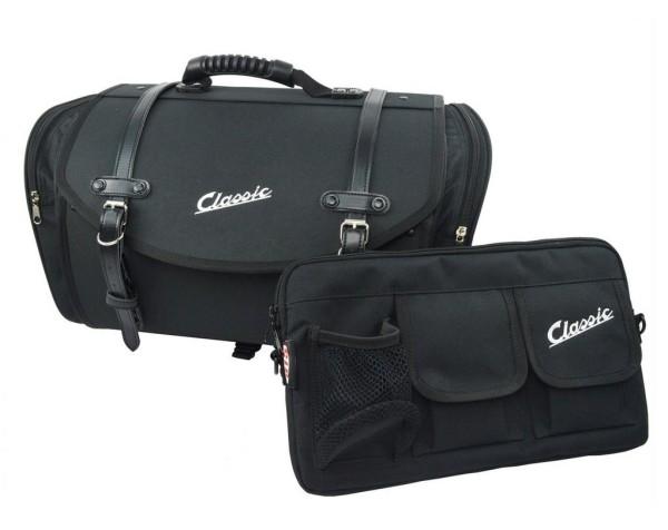 Bag set Classic for Vespa, black