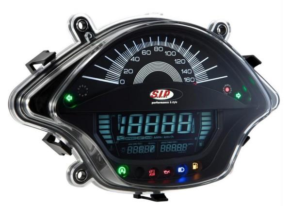 Speedometer/Rev Counter for Vespa GTS/GTS Super 300ccm FL ('14-), black